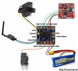 Нажмите на изображение для увеличения.  Название:micro-minimosd-kv-mod-connection-naze32-d4r-ii-rx-fpv-camera-vtx-setup1.jpg Просмотров:41 Размер:173.9 Кб ID:315821