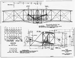 Нажмите на изображение для увеличения.  Название:1903_Flyer_Blueprints_Plate_2.jpg Просмотров:4739 Размер:311.2 Кб ID:166014